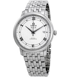 Omega De Ville Automatic Silvery White Dial Men's Watch