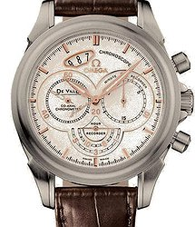 Omega De Ville Co-Axial 41 Chronoscope Stainless Steel