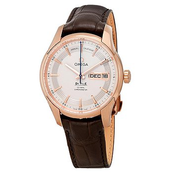 Купить часы Omega De Ville Hour Vision 18kt Rose Gold Automatic Chronometer Silver Dial Men's Watch  в ломбарде швейцарских часов