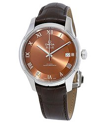 Omega De Ville Hour Vision Automatic Bronze-Colored Dial Men's Watch