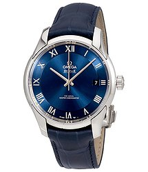 Omega De Ville Hour Vision Automatic Chronometer Blue Dial Men's Watch