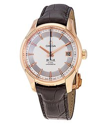 Omega De Ville Hour Vision Automatic Men's 18kt Rose Gold Watch