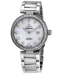 Omega De Ville Ladymatic Automatic Mother of Pearl DialLadies Watch 42535342055001