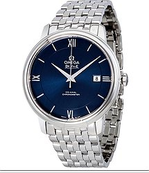 Omega De Ville Prestige Automatic Blue Dial Men's Watch