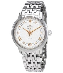 Omega De Ville Prestige Automatic Silver Dial Ladies Watch