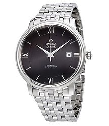 Omega De Ville Prestige Black Dial Automatic Men's Watch 42410402001001