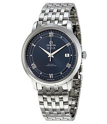 Omega De Ville Prestige Blue Dial Automatic Men's Watch
