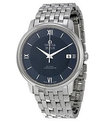 Omega De Ville Prestige Blue Dial Men's Watch