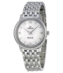 Omega De Ville Prestige Mother of Pearl Dial Ladies Watch