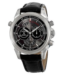 Omega De Ville Rattrapante Automatic Chronograph Grey Dial Men's Watch