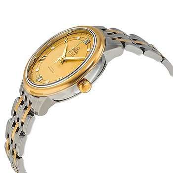 Купить часы Omega De Ville Yellow Gold Diamond Dial Ladies Steel and 18kt Yellow Gold Watch  в ломбарде швейцарских часов