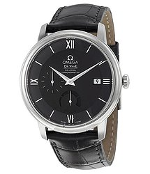 Omega DeVille Prestige Black Dial Automatic Men's Watch