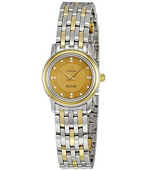 Omega Deville Prestige Diamond Ladies Watch