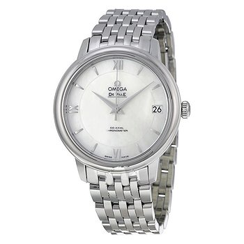 Купить часы Omega DeVille Prestige Mother of Pearl Dial Stainless Steel Automatic Ladies Watch  в ломбарде швейцарских часов