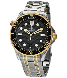 Omega Diver 300M Automatic Chronometer Black Dial Men's Watch
