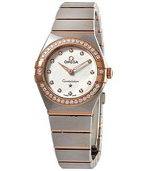 Omega Omega Constellation Manhattan Diamond Silver Dial Ladies Watch 131.25.25.60.52.001