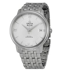 Omega Prestige Co-Axial Automatic Silver Dial Unisex Watch