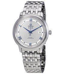 Omega Prestige Co-Axial Automatic Silvery Dial Men's Watch