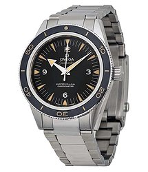 Omega Seamaster 300 Automatic Black Dial Men's Watch 23330412101001