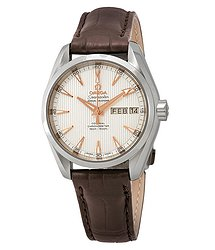 Omega Seamaster Aqua Terra Automatic Chronometer Silver Dial Men's Watch