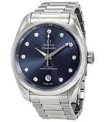 Omega Seamaster Aqua Terra Automatic Diamond Ladies Watch