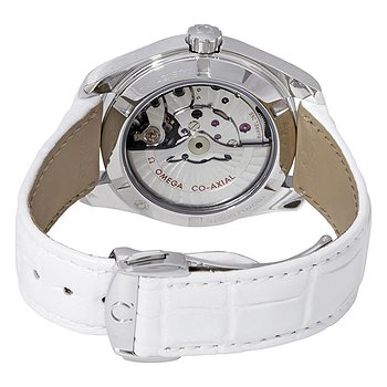 Купить часы Omega Seamaster Aqua Terra Automatic Diamond White Mother of Pearl Dial Ladies Watch  в ломбарде швейцарских часов