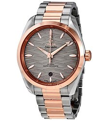 Omega Seamaster Aqua Terra Automatic Grey Dial Ladies Watch