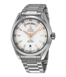 Omega Seamaster Aqua Terra Automatic Silver Dial Stainless Steel Men's Watch