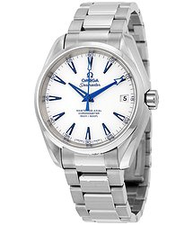 Omega Seamaster Aqua Terra Automatic White Dial Stainless Steel Men's Watch 23190392104001
