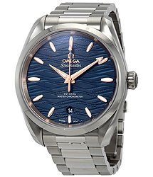 Omega Seamaster Aqua Terra Co-Axial Master Chronometer Automatic Blue Dial Men's Watch