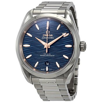 Купить часы Omega Seamaster Aqua Terra Co-Axial Master Chronometer Automatic Blue Dial Men's Watch  в ломбарде швейцарских часов