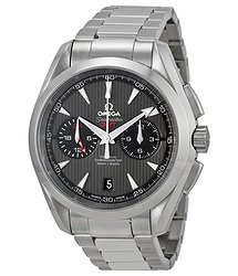 Omega Seamaster Aqua Terra Grey Dial Stainless Steel Men's Watch 23110435206001