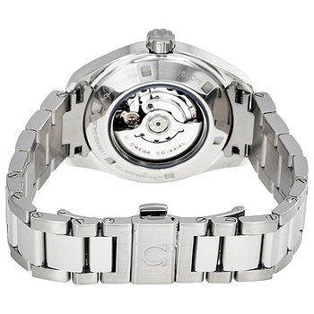 Купить часы Omega Seamaster Aqua Terra Mother of Pearl Diamond Dial Stainless Steel Automatic Ladies Watch  в ломбарде швейцарских часов