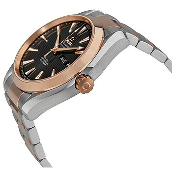 Купить часы Omega Seamaster Aqua Terra Teak Grey Dial Steel and 18K Rose Gold Automatic Men's Watch 23120432206002  в ломбарде швейцарских часов