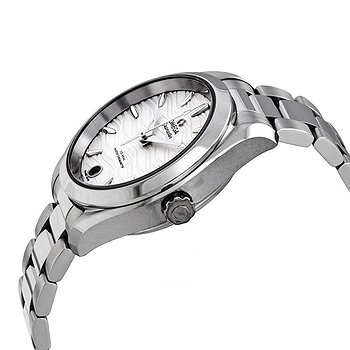 Купить часы Omega Seamaster Aqua Terra Waved Opaline Silvery Dial Automatic Ladies Watch  в ломбарде швейцарских часов