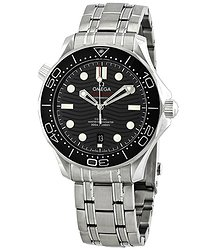 Omega Seamaster Automatic Chronometer Black Dial Men's Watch