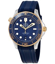 Omega Seamaster Automatic Chronometer Blue Dial Men's Watch