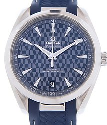 "Omega Seamaster Olympic Games Collection ""Tokyo 2020"" Blue Dial Men's Watch"