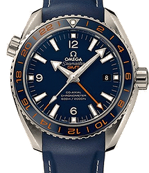 Omega Seamaster Planet Ocean 600M Omega Co‑axial GMT 43,5 mm