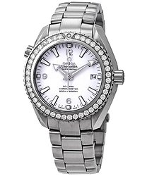Omega Seamaster Planet Ocean Automatic Diamond Ladies Watch