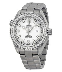 Omega Seamaster Planet Ocean Automatic Diamond White Dial Stainless Steel Ladies 37.5mm Watch 23215382004001