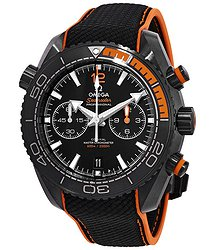Omega Seamaster Planet Ocean Chronograph Automatic Black Dial Men's Watch