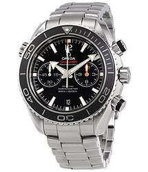 Omega Seamaster Planet Ocean Chronograph Automatic Chronometer Men's Watch