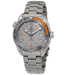 Omega Seamaster Planet Ocean Titanium Chronometer Automatic Men's Watch