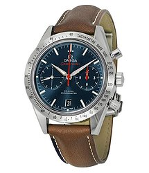Omega Speedmaster Automatic Blue Dial Men's Watch 33112425103001
