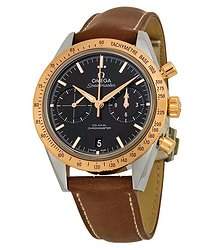 Omega Speedmaster Chronograph Automatic Black Dial Men's Watch 33122425101001