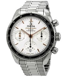 Omega Speedmaster Chronograph Automatic Silver Dial Men's Watch