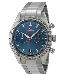 Omega Speedmaster Chronograph Blue Dial Stainless Steel Men's Watch 33110425103001