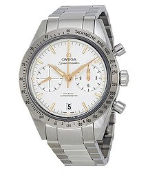 Omega Speedmaster Chronograph Silver Dial Steel Men's Watch 33110425102002