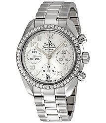 Omega Speedmaster Diamond Bezel Automatic Chronograph Ladies Watch